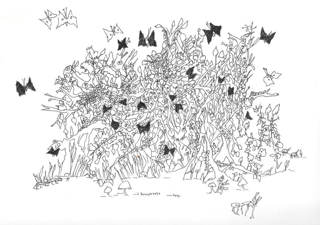 Spirits 1 (Black                                               Butterfly)